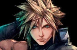 Cloud en Final Fantasy VII por Tetsuya Nomura