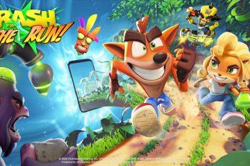 Portada de Crash Bandicoot On the Run!