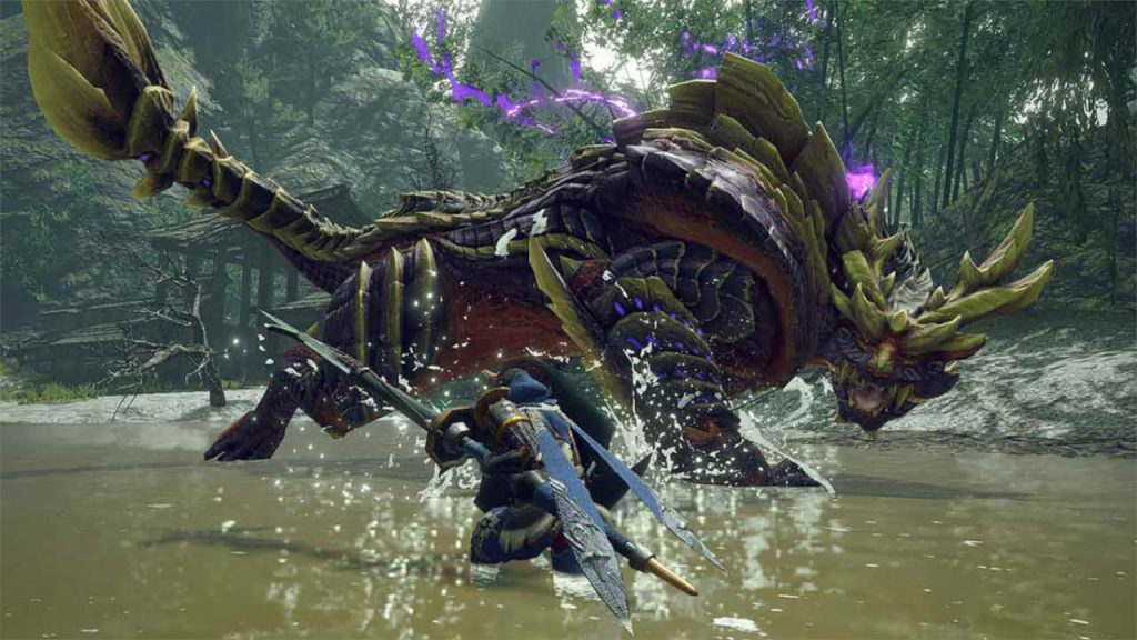 Captura de Monster Hunter Rise
