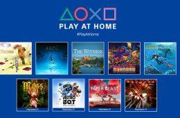 Play At Home 2021 10 juegos