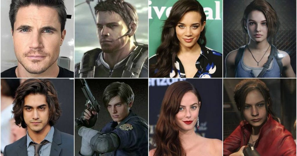 Resident Evil Welcome to Racoon City Cast