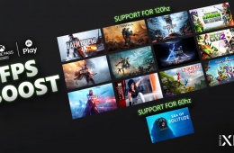 Todos los nuevos juegos que llegan a Xbox FPS Boost