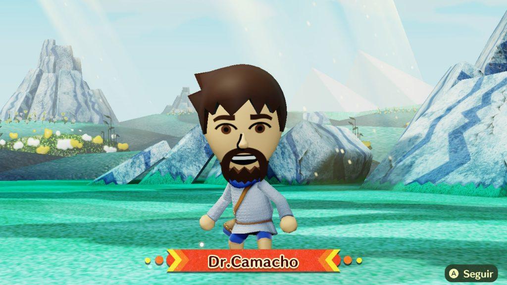 Miitopia Dr. Camacho