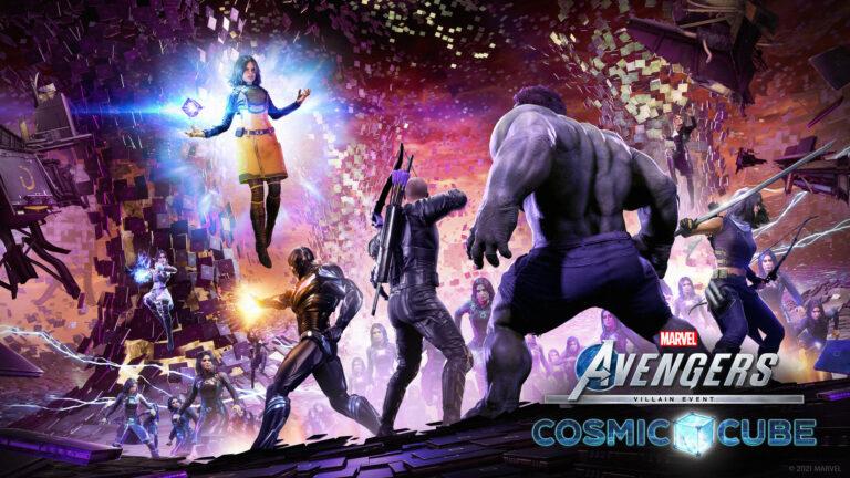 Portada de Marvel's Avengers The Cosmic Cube