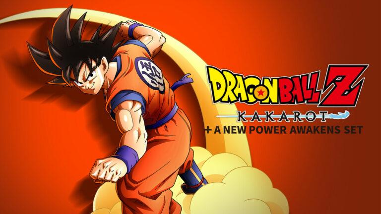 Portada de Dragon Ball Z: Kakarot + A New Power Awakens Set