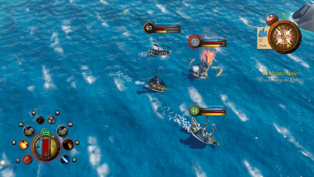 Batalla en King of Seas