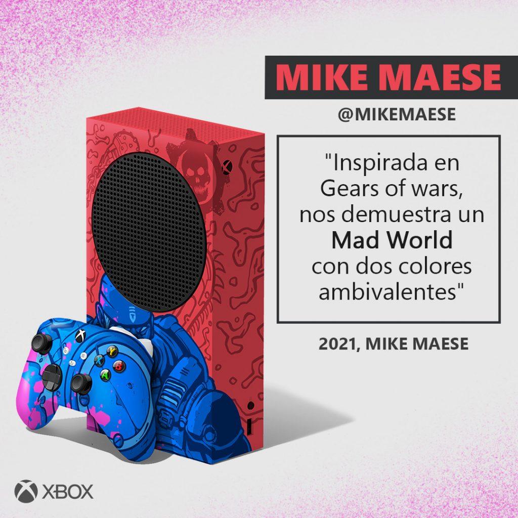 Diseño de Mike Mease