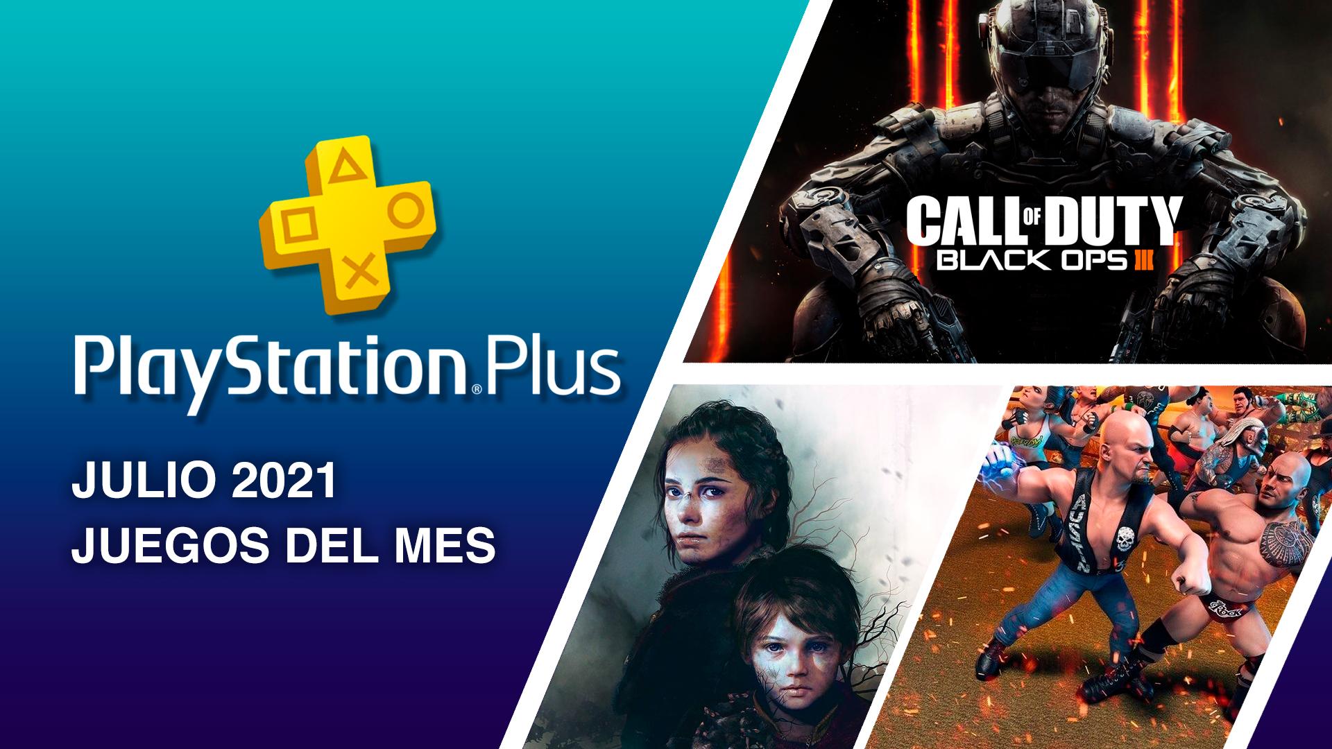 PlayStation Plus Julio 2021