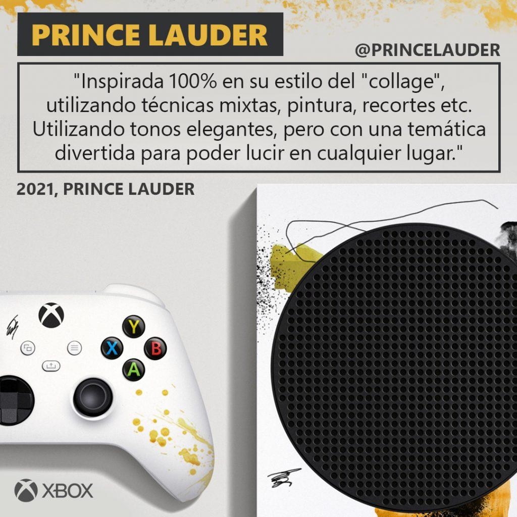 Diseño de Prince Lauder