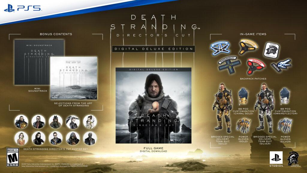 Death Stranding Director's Cut Digital Deluxe Edition