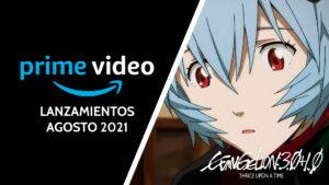Evangelion Amazon Prime Video agosto 2021 ImpulsoGeek
