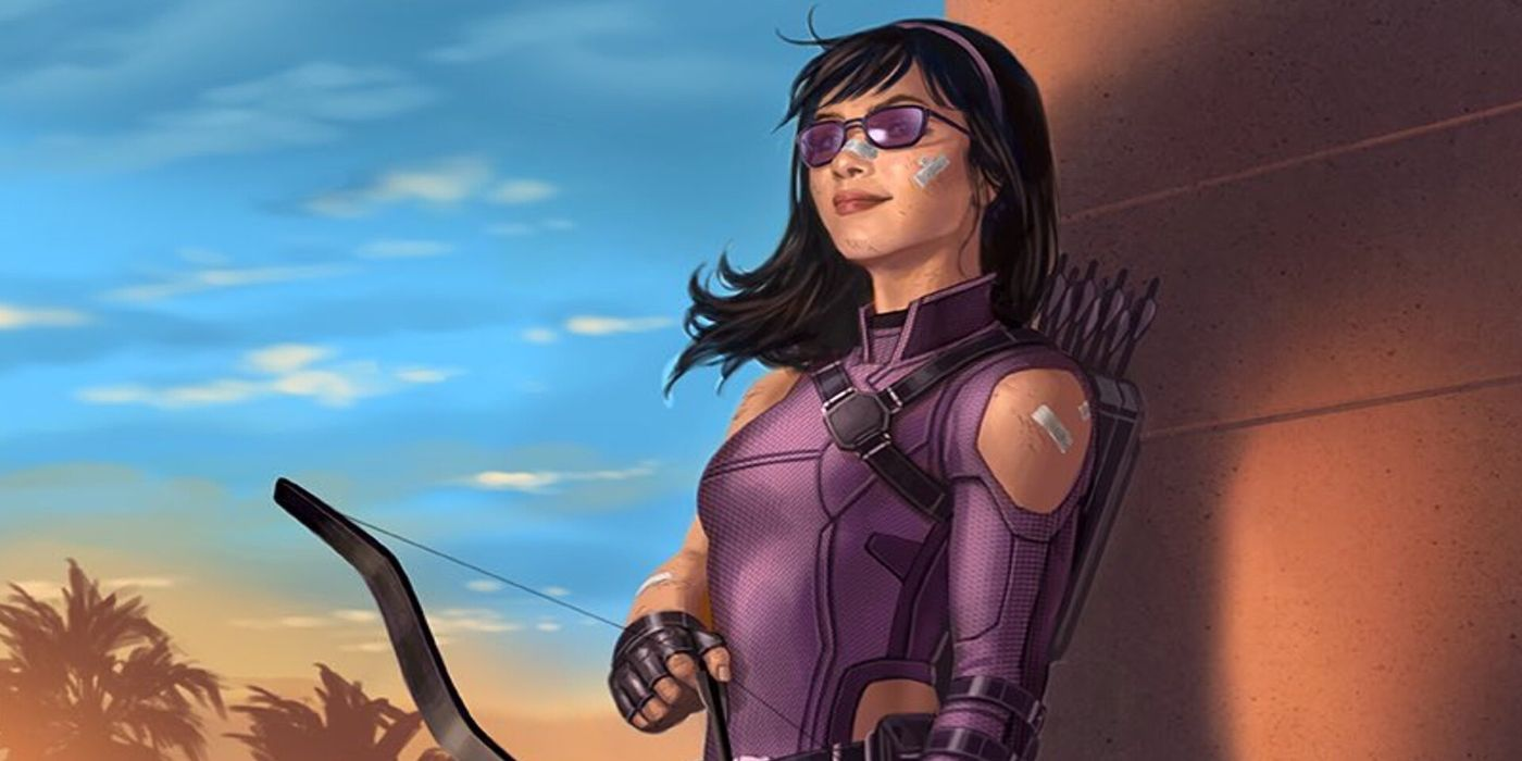 Kate Bishop como Hawkeye