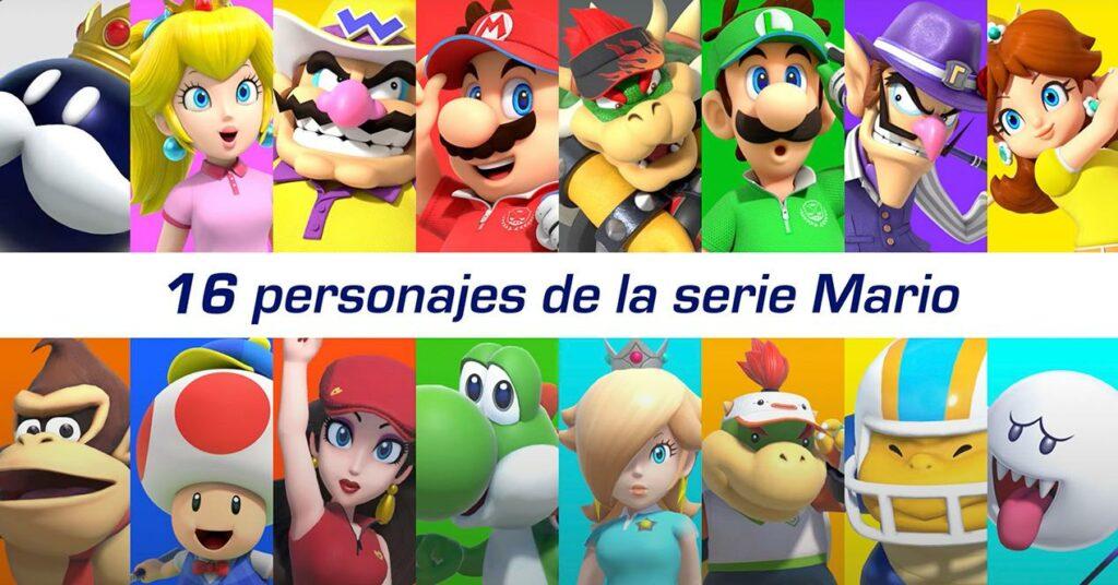 Mario Golf Super Rush Characters