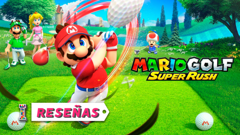 Portada Review Mario Golf Super Rush ImpulsoGeek