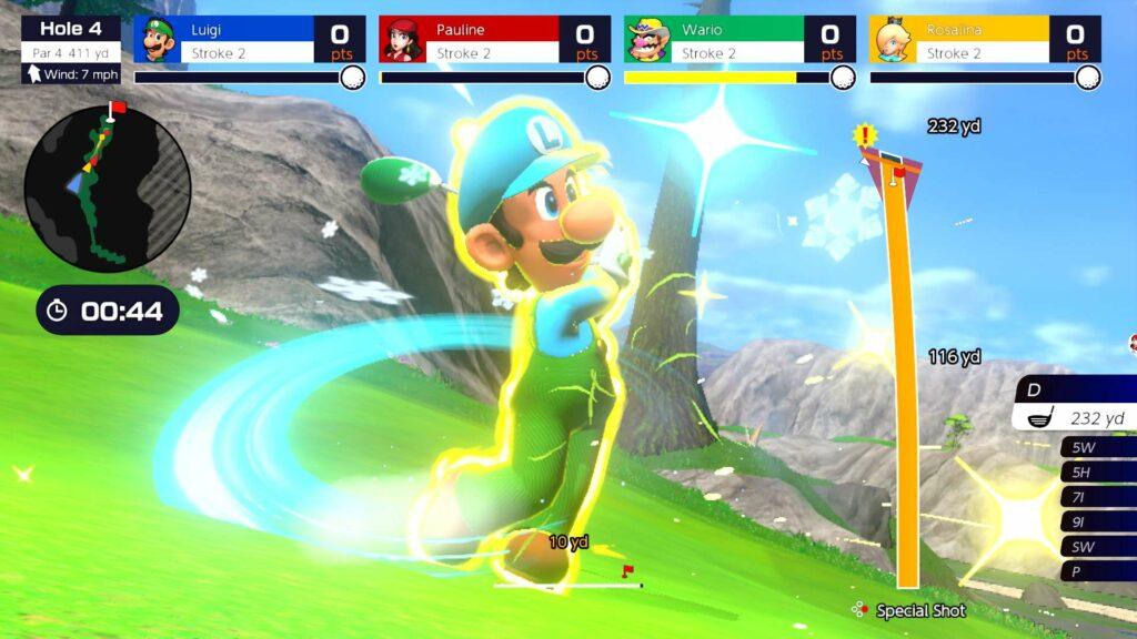 Super Shot Mario Golf