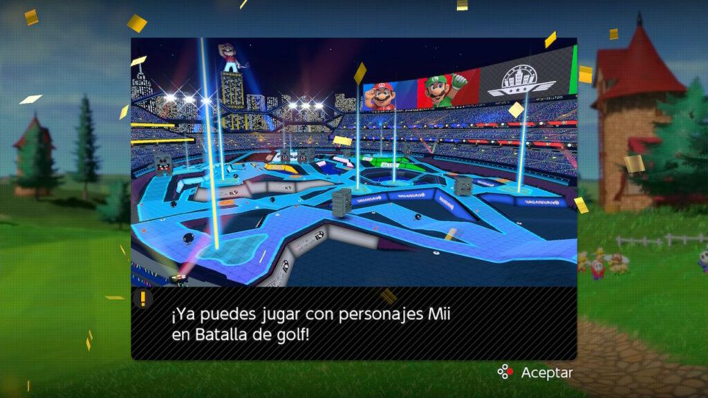 Mii Mario Golf