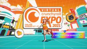 Póster de la Agárrense porque la Virtual Crunchyroll Expo