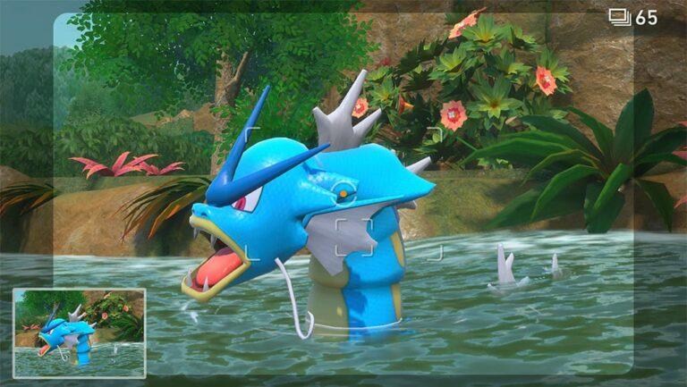Gyarados en New Pokémon Snap