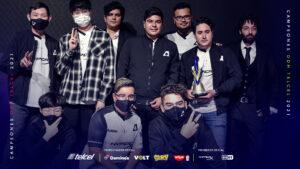 Team Aze, campeón de la División de Honor Telcel