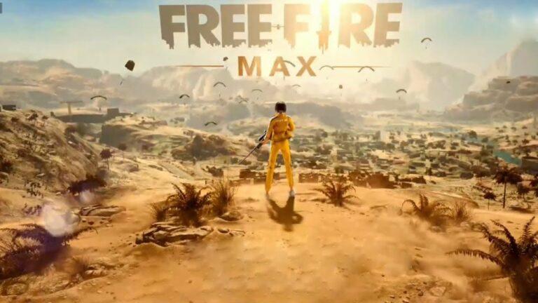 Portada de Free Fire MAX