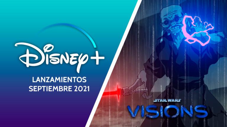 Star Wars Visions para Disney+ en septiembre 2021