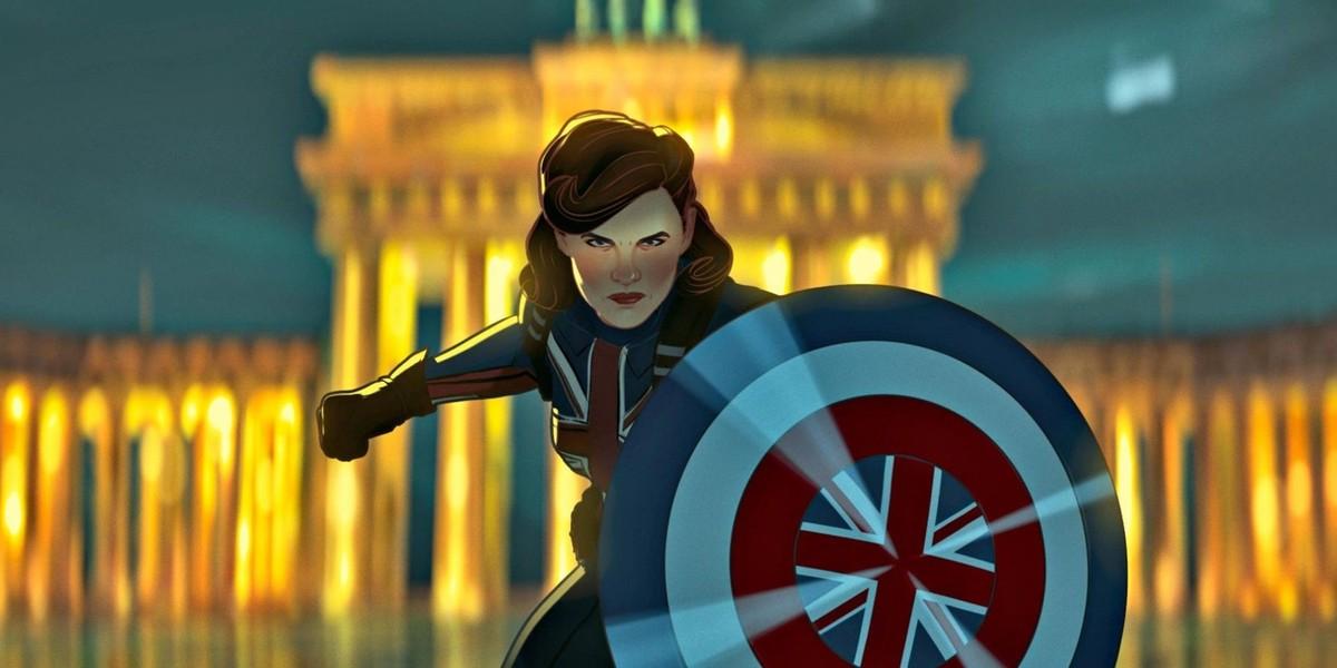 Peggy as Captain Carter