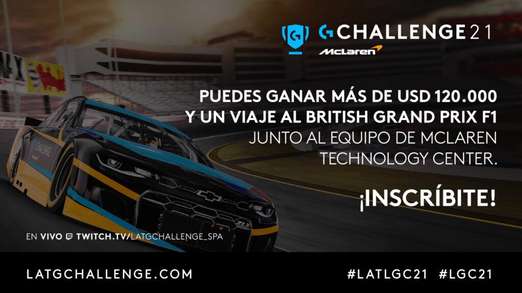 Anuncio del Logitech McLaren G Challenge