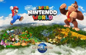 Super Nintendo World con Donkey Kong