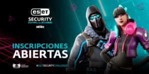 Portada del ESET Security Challenge de Fortnite