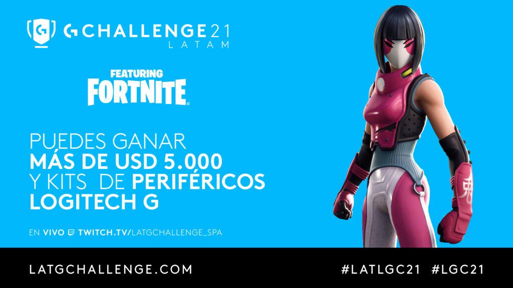 Logitech G Challenge Fortnite