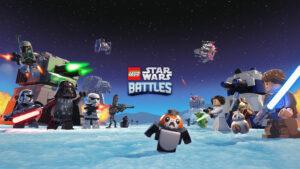 Portada de LEGO Star Wars Battles