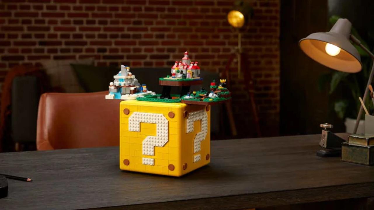 Cubo Lego de Super Mario 64