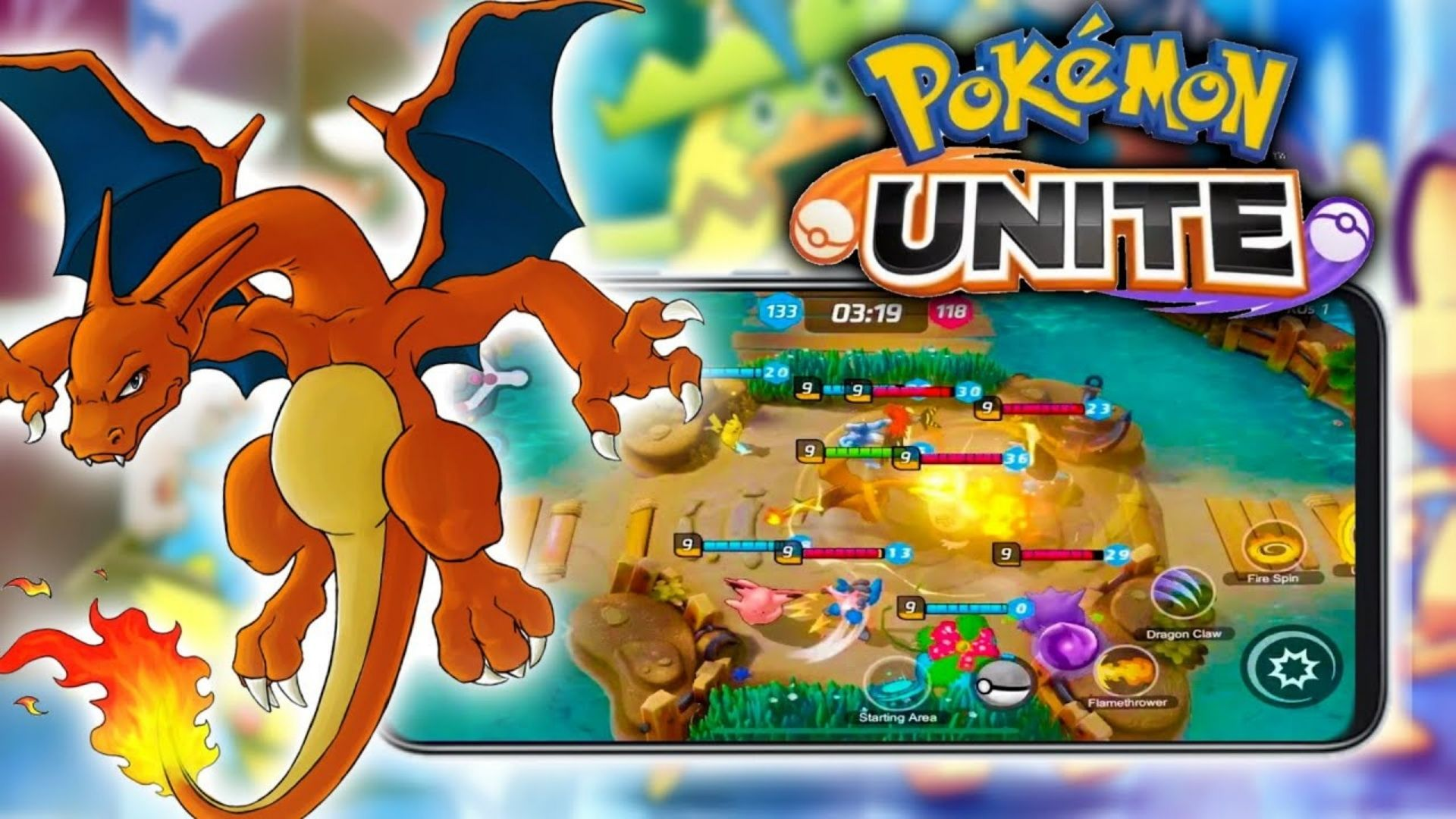 Portada de Pokémon UNITE