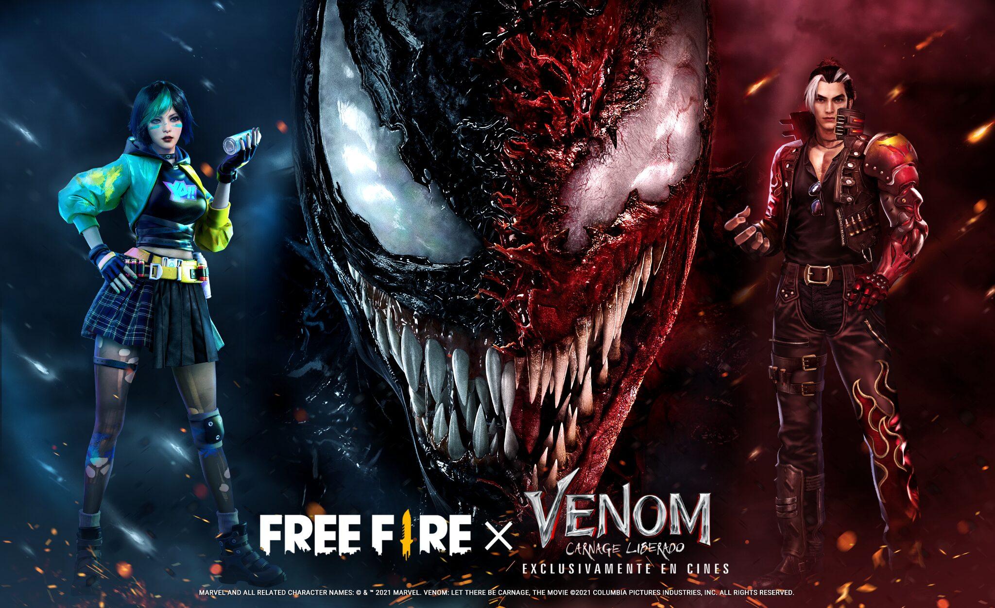 Venom en Free Fire
