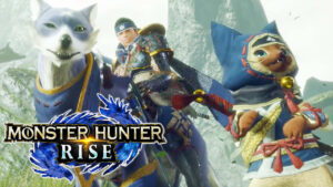 Escena de Monster Hunter Rise